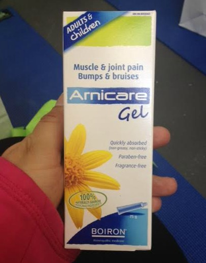 Arnicare Gel from Boiron Canada