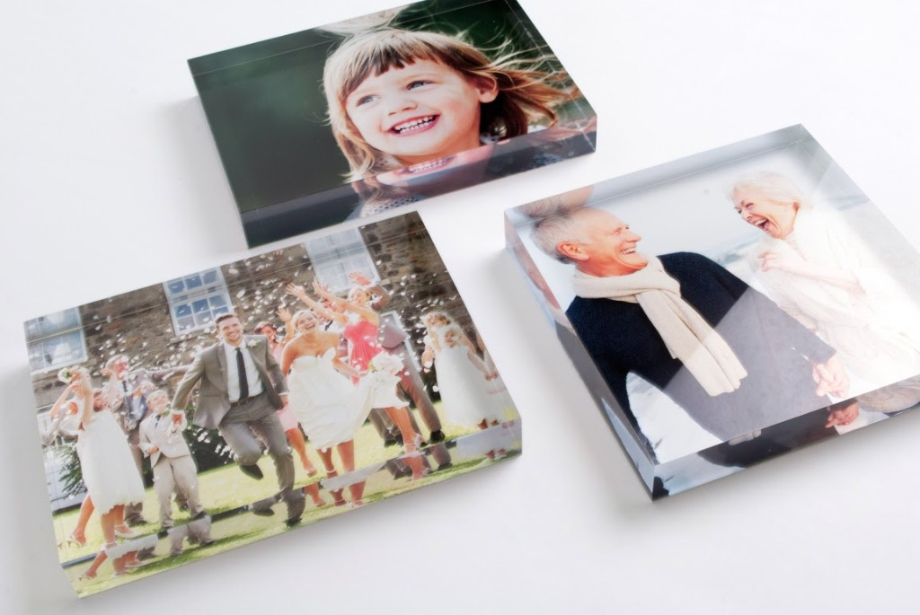 Add Flair to Dad's Desk with Acrylic Photo Blocks