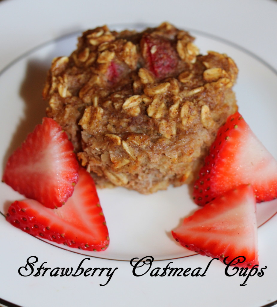 Strawberry Oatmeal Cups