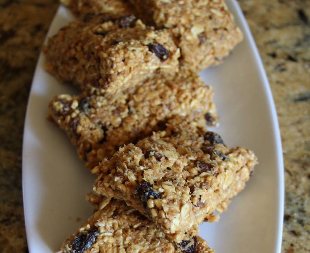 Five Ingredient Granola Bars