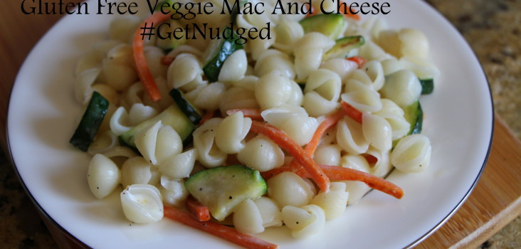 Simple Weeknight Gluten Free Mac N Cheese with Nudge Foods