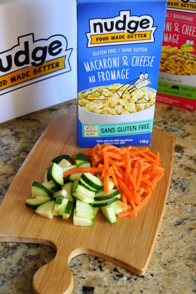 Gluten Free Veggie Mac and Cheese with Nudge Foods