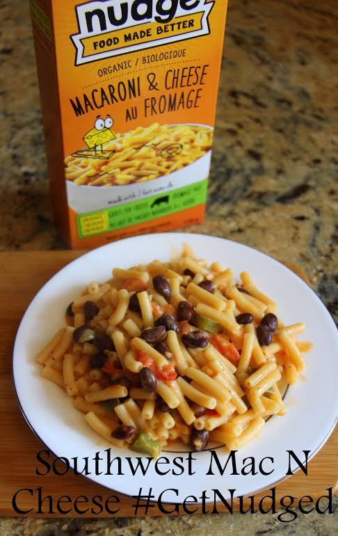 Southwest Mac n Cheese #GetNudged