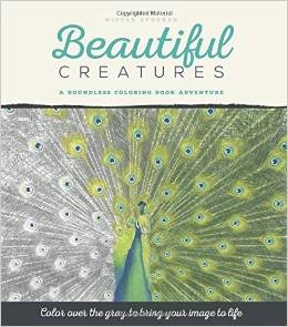 Beautiful Creatures Adult Colouring Book