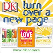 Complete Family Nutrition: DK Canada Turn Over A New Page
