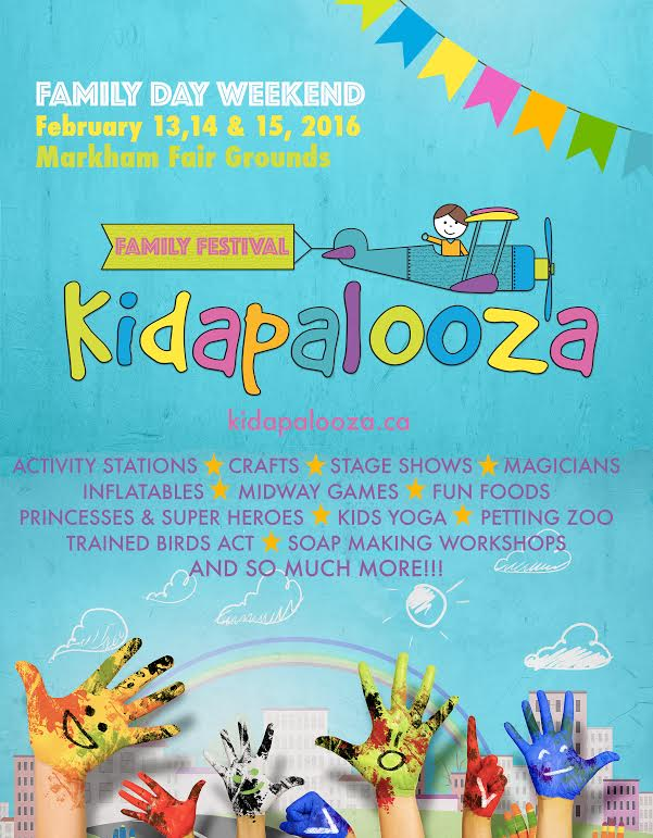 Family Day Fun at Kidapalooza