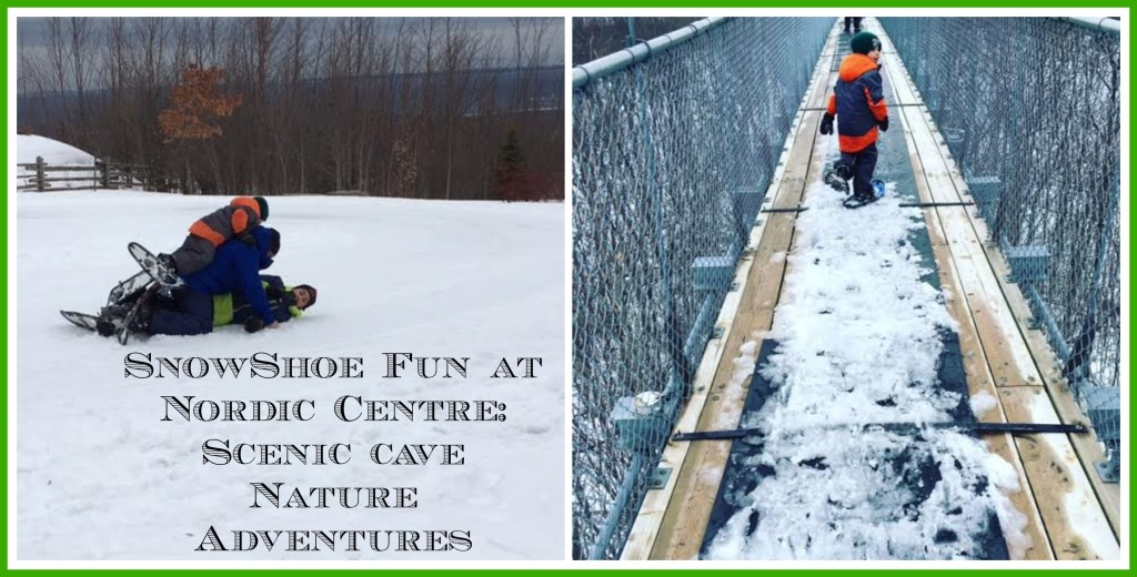 Unleash Your Inner Winter Child at Scenic Caves Nature Adventures Nordic Centre