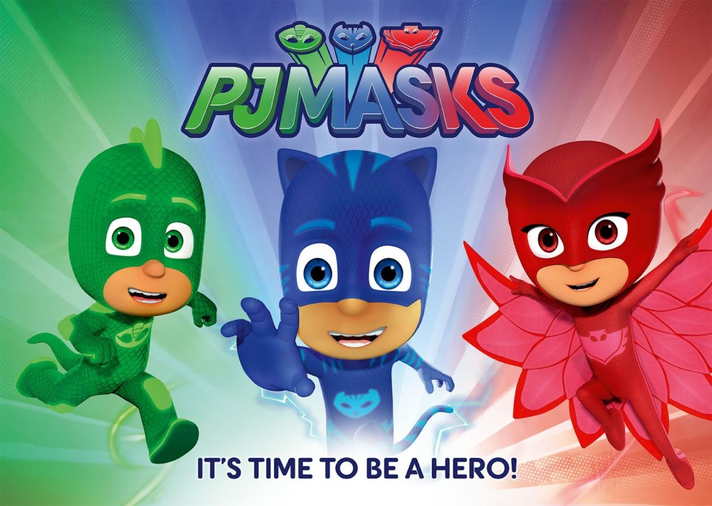 PJ Masks Debuts on Disney Junior