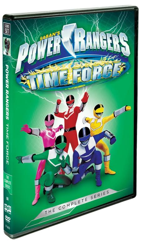 Power Rangers Time Force Giveaway