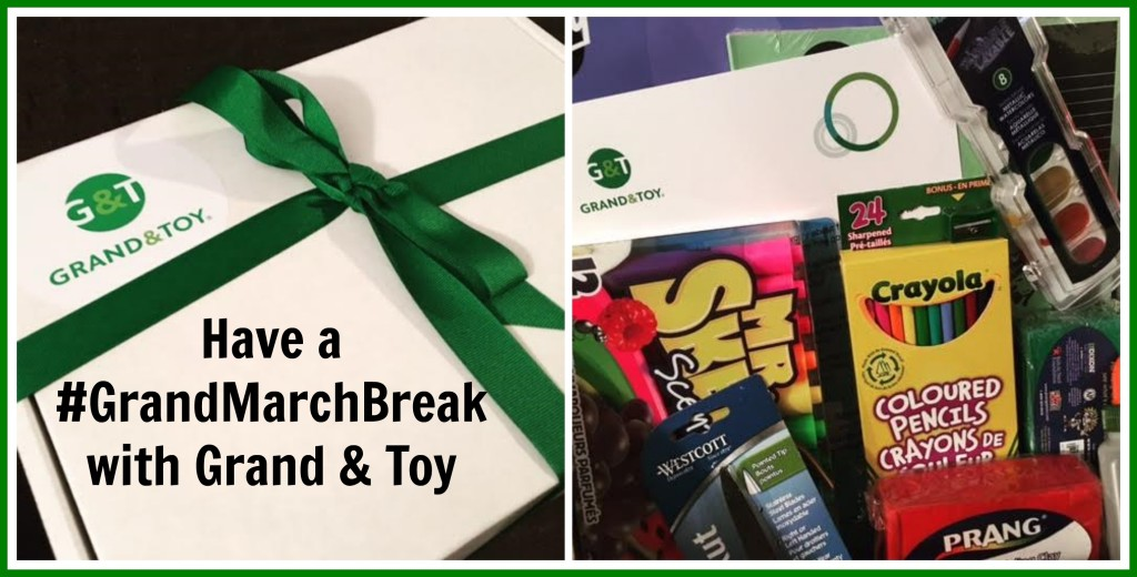Have a #GrandMarchBreak with Crafts from Grand & Toy