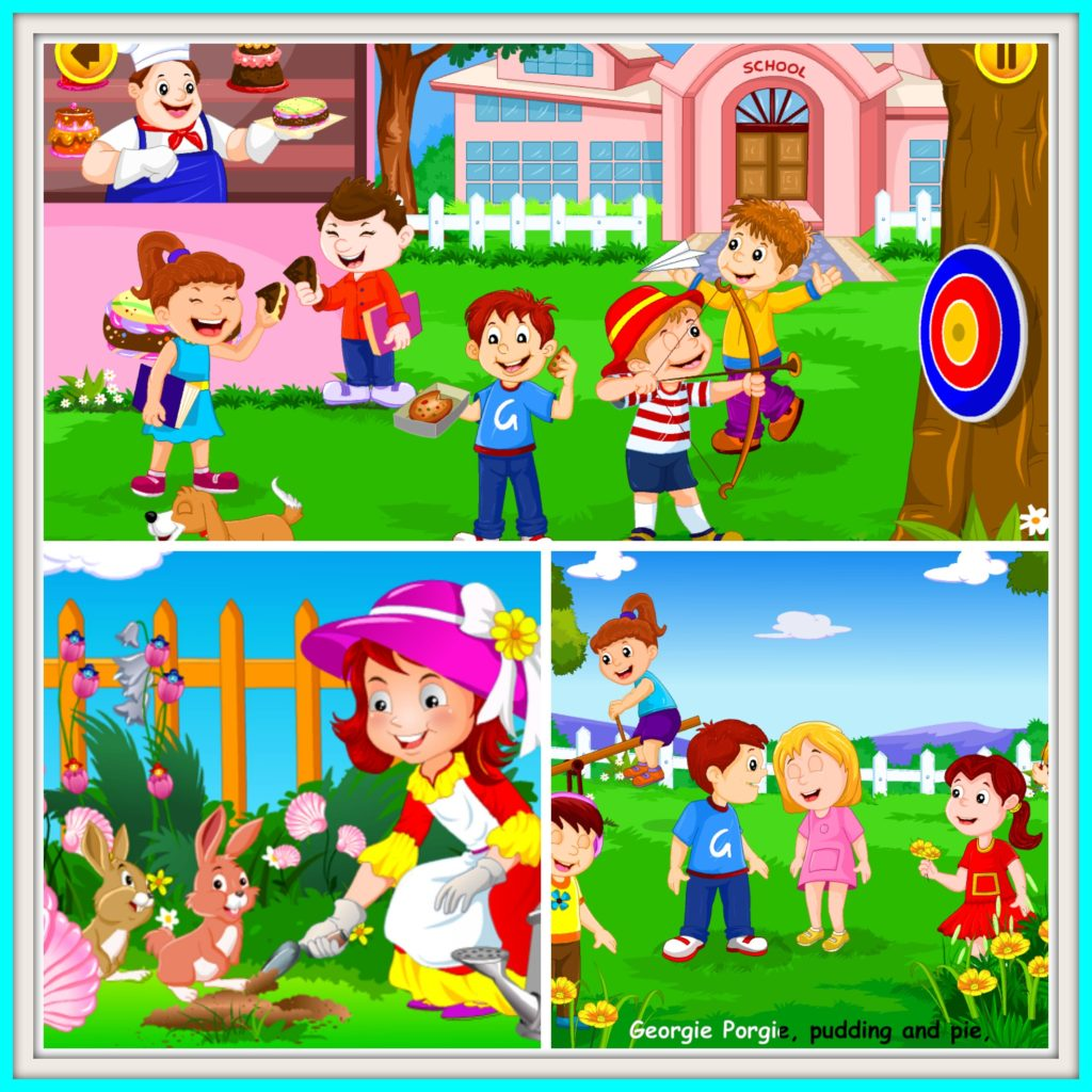 Educationl Fun with the KidloLand Nursery Rhyme App