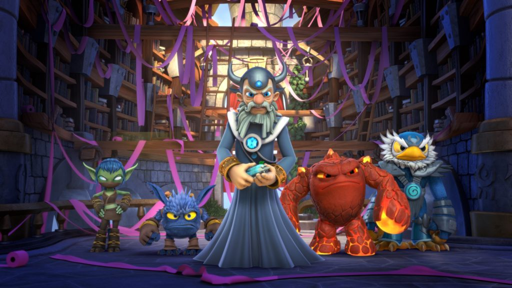 Skylanders Academy Set To Be The Number One Show This Fall