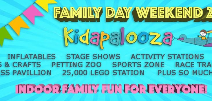 Celebrate Family Day with Kidapalooza