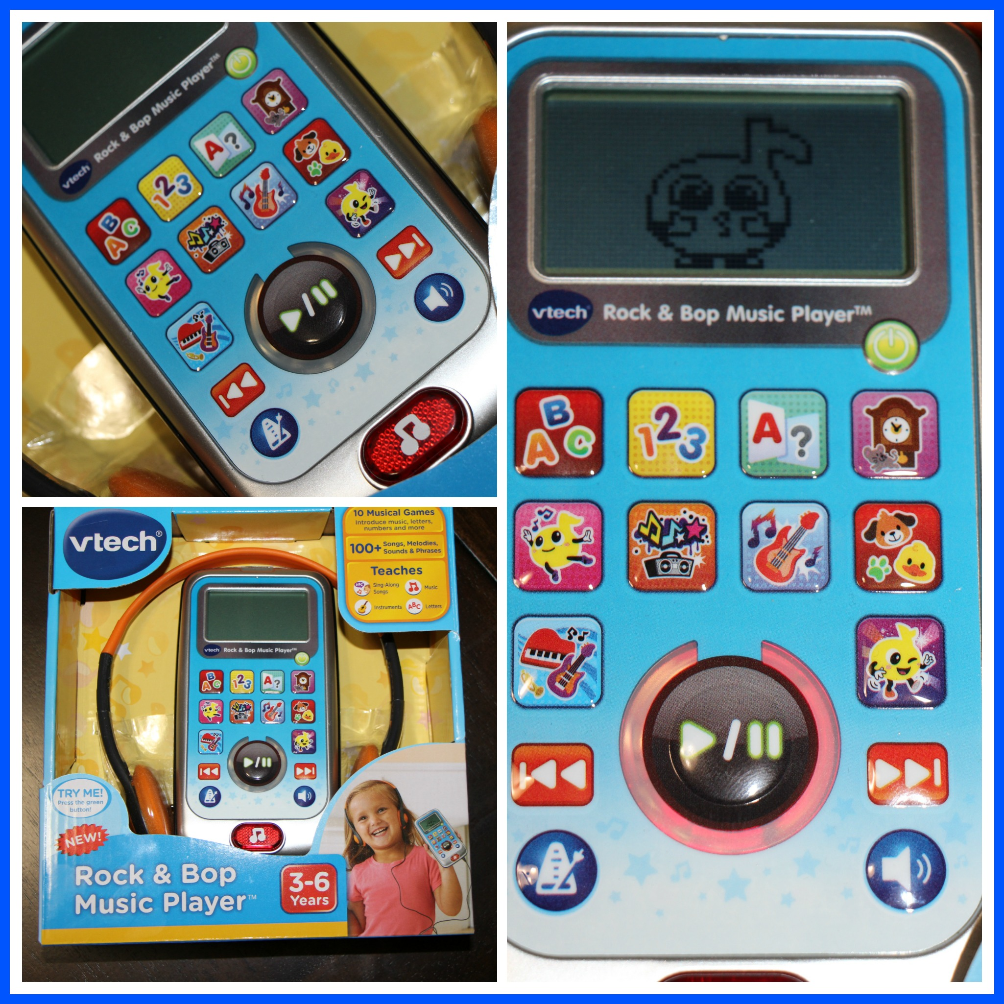 Dance to the Music with VTech Rock and Bop Music Player