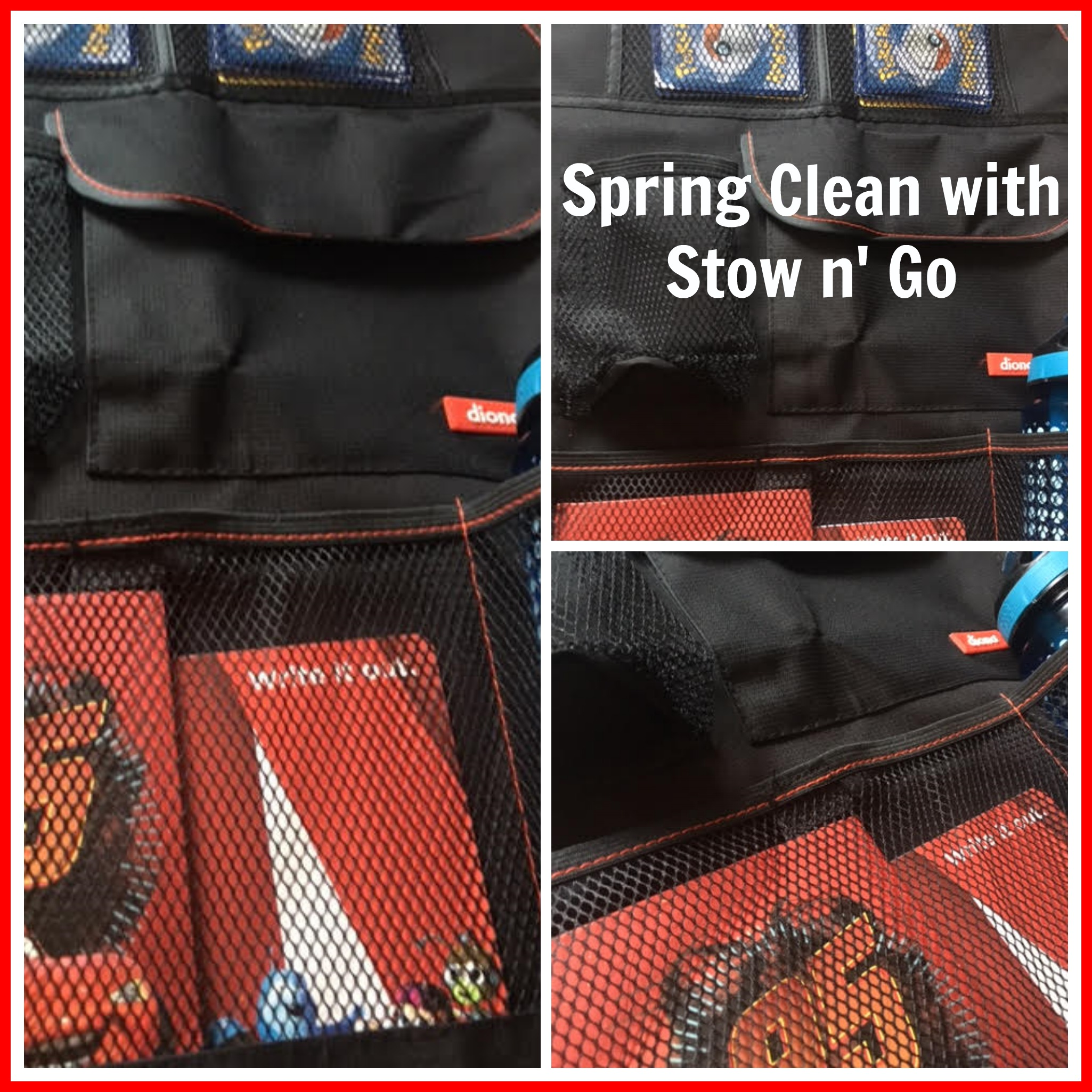 Spring Clean with Diono Stow N' Go