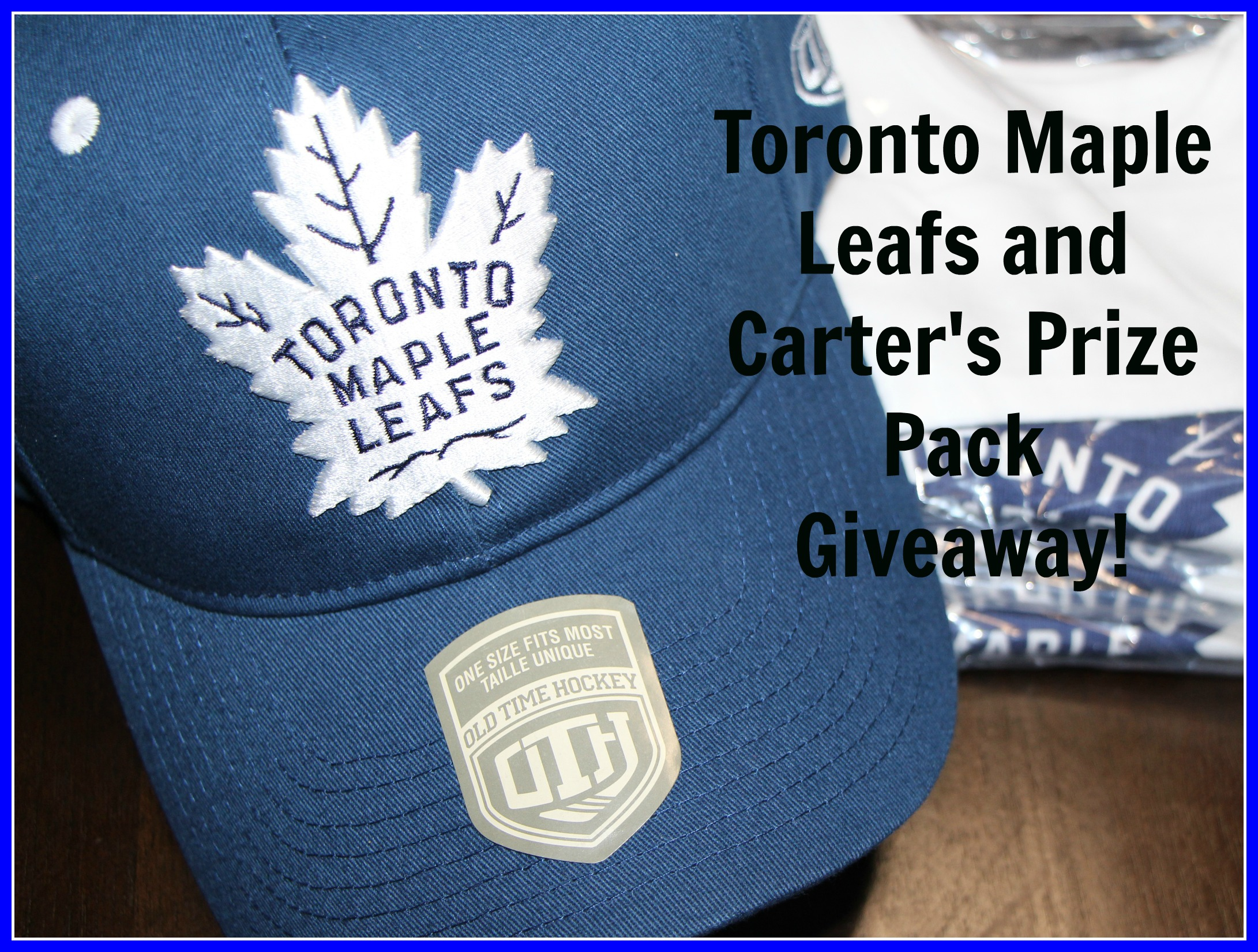 Calling All Toronto Maple Leafs Fans and Their Lil Partners #Giveaway
