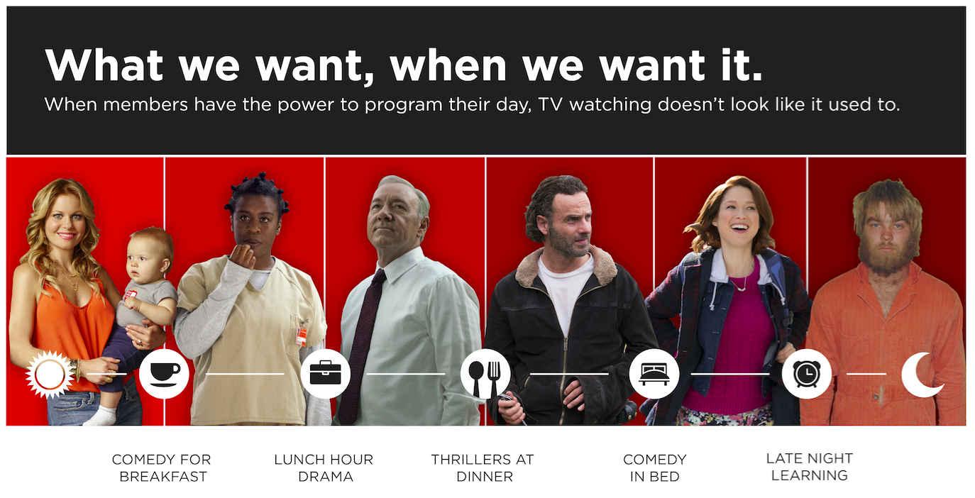 Watch Netflix When and Where You Want It #StreamTeam