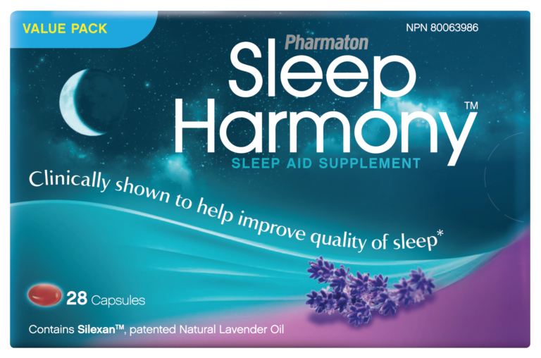 Put an End to Sleepless Nights with Pharmaton® Sleep Harmony™