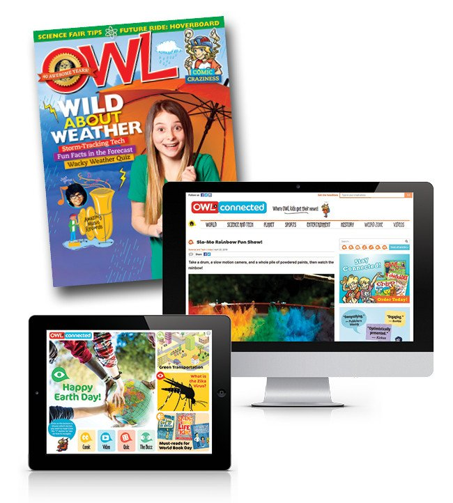 Celebrate Diversity, Acceptance, Reading and Canada 150 with OWL Magazine and Giveaway