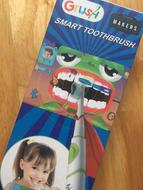 Interactive Brushing with Grush Smart Toothbrush