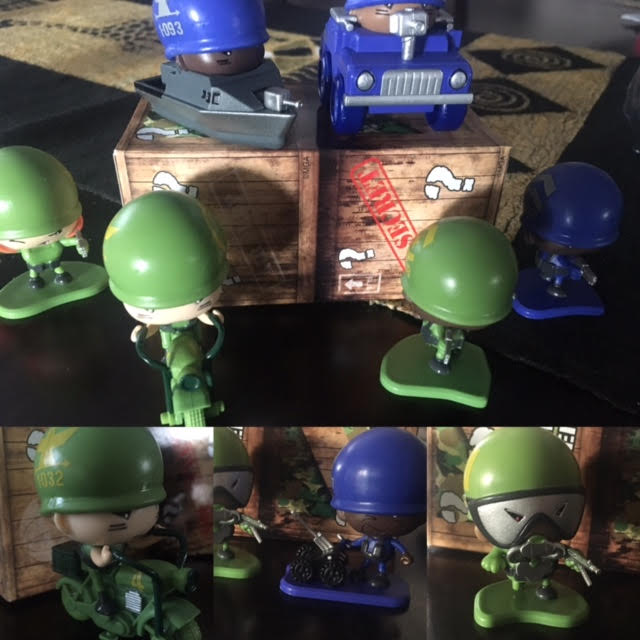 Collect and Battle with the Awesome Little Green Men