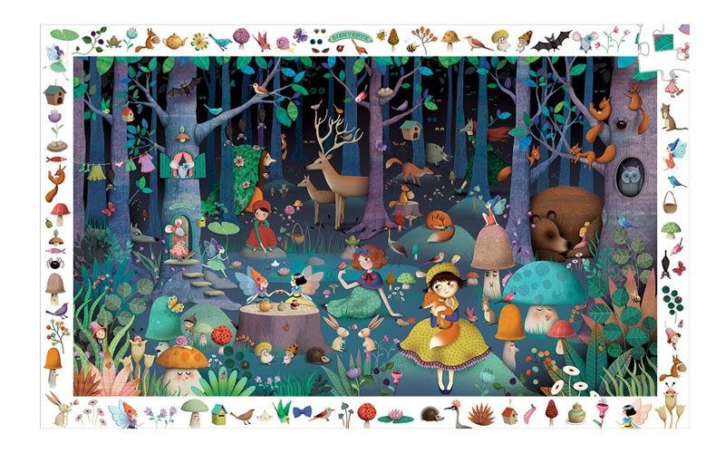 Cross The Family Gift off Your List with Enchanted Forest Observation Puzzle