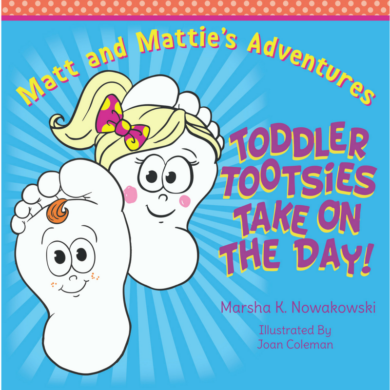 Toddler Tootsies Take on the Day! Spotlight