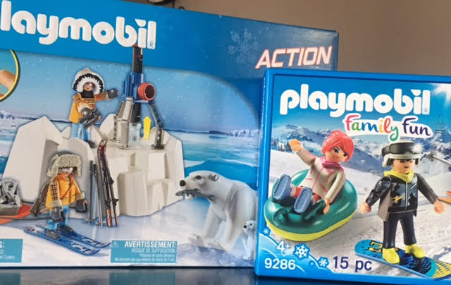 Bring the Winter Adventures Inside with Winter Themed Playmobil Sets