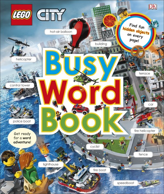 LEGO City Busy Word Book Review
