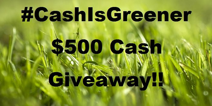 The #CashIsGreener Right? Enter Now to Win $500 CDN #Giveaway