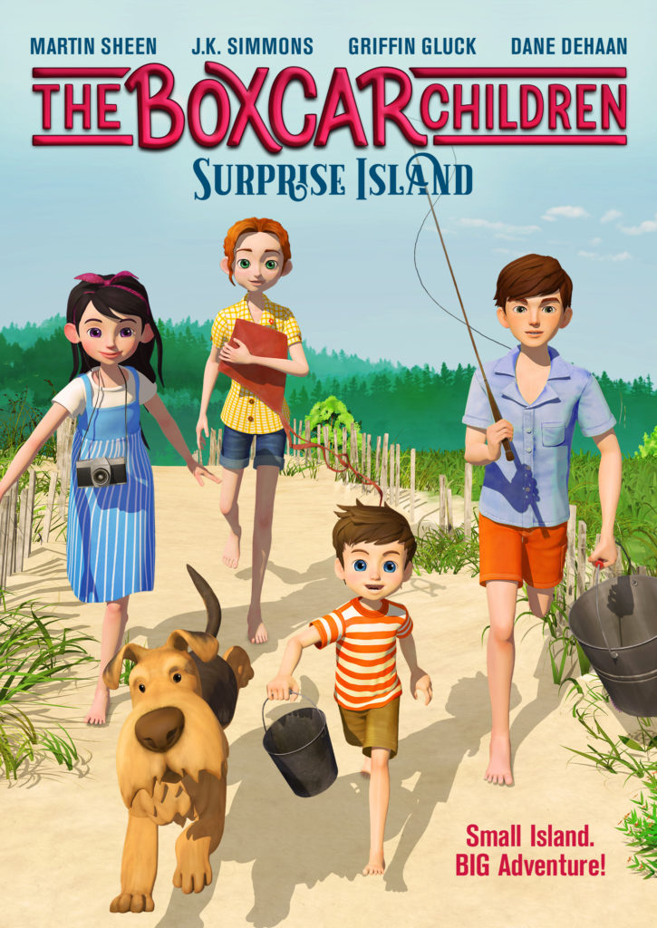 The Boxcar Children: Surprise Island DVD Giveaway