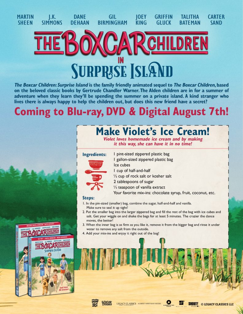 The Boxcar Children: Surprise Island DVD Giveway