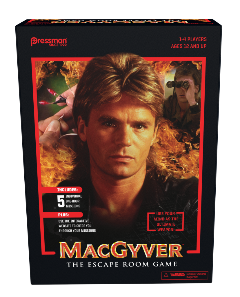 Turn Your Living Room into an Escape Room with MacGyver: The Escape Room Game!
