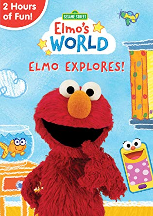 Sesame Street - Elmo's World: Elmo Explores! DVD Giveaway