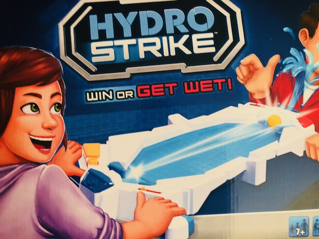 Bring Back Family Game Night 80s Style with Hydro Strike