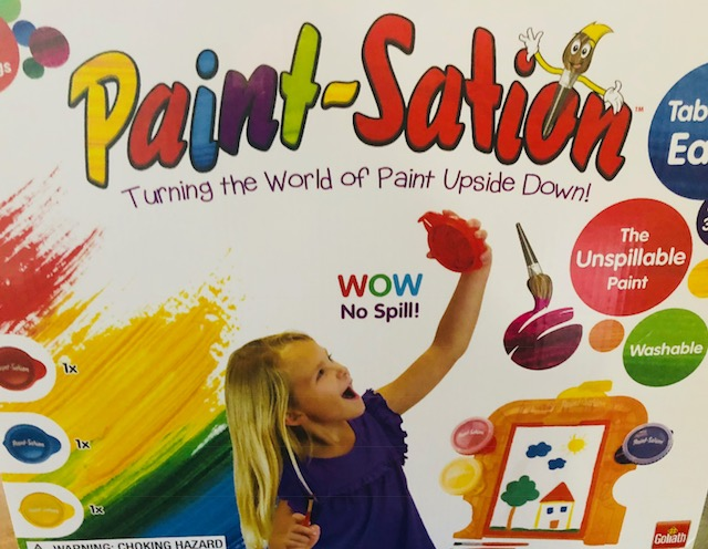 Take Painting With Your Child to a New Level with Paint-Sation Easel