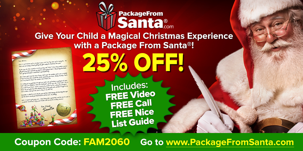 Create Memories to Last a Lifetime with Package from Santa