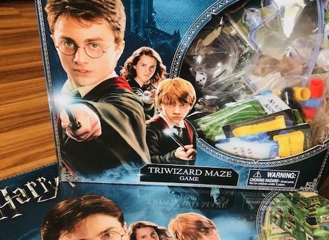Calling All Wizards! Throw a Harry Potter Themed Game Night with Goliath Games